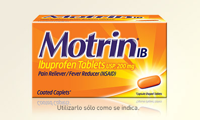 Tabletas de ibuprofenoMOTRIN®